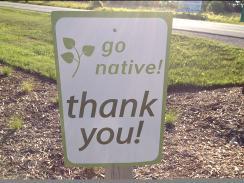 Go Native Sign